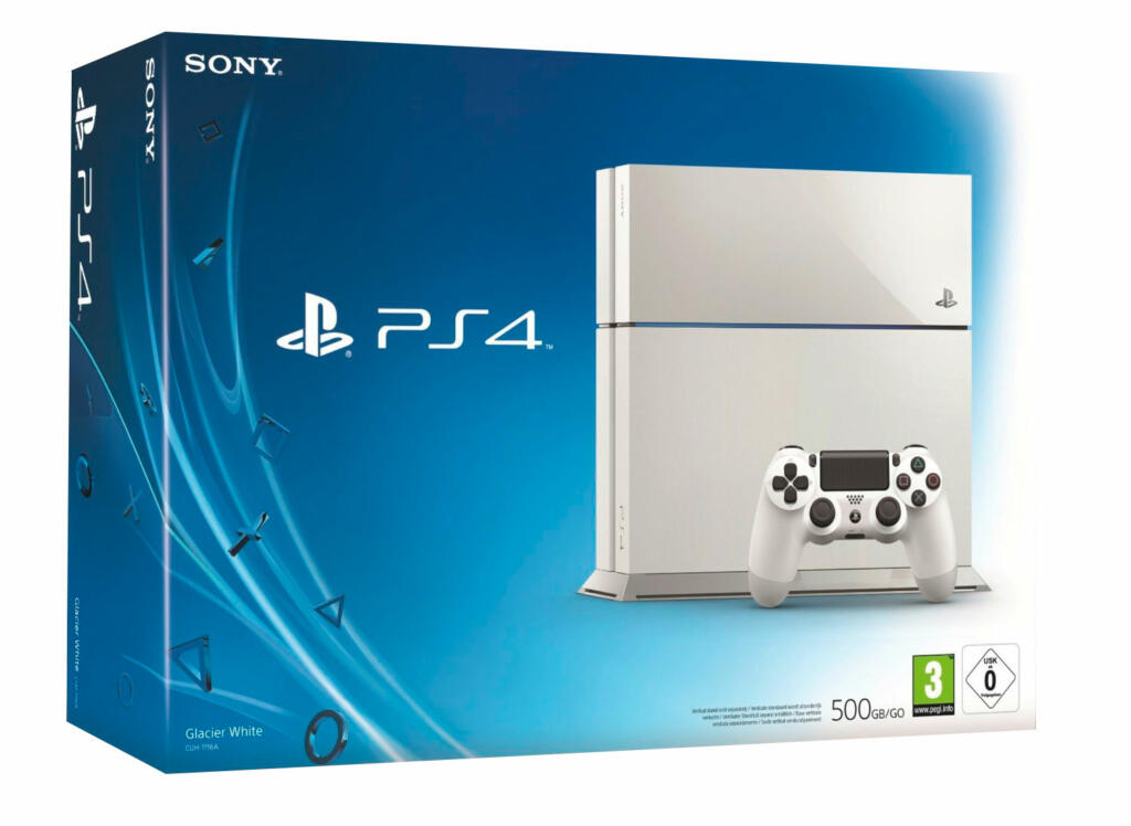 console ps4 blanche 500 go acheter vendre sur. Black Bedroom Furniture Sets. Home Design Ideas