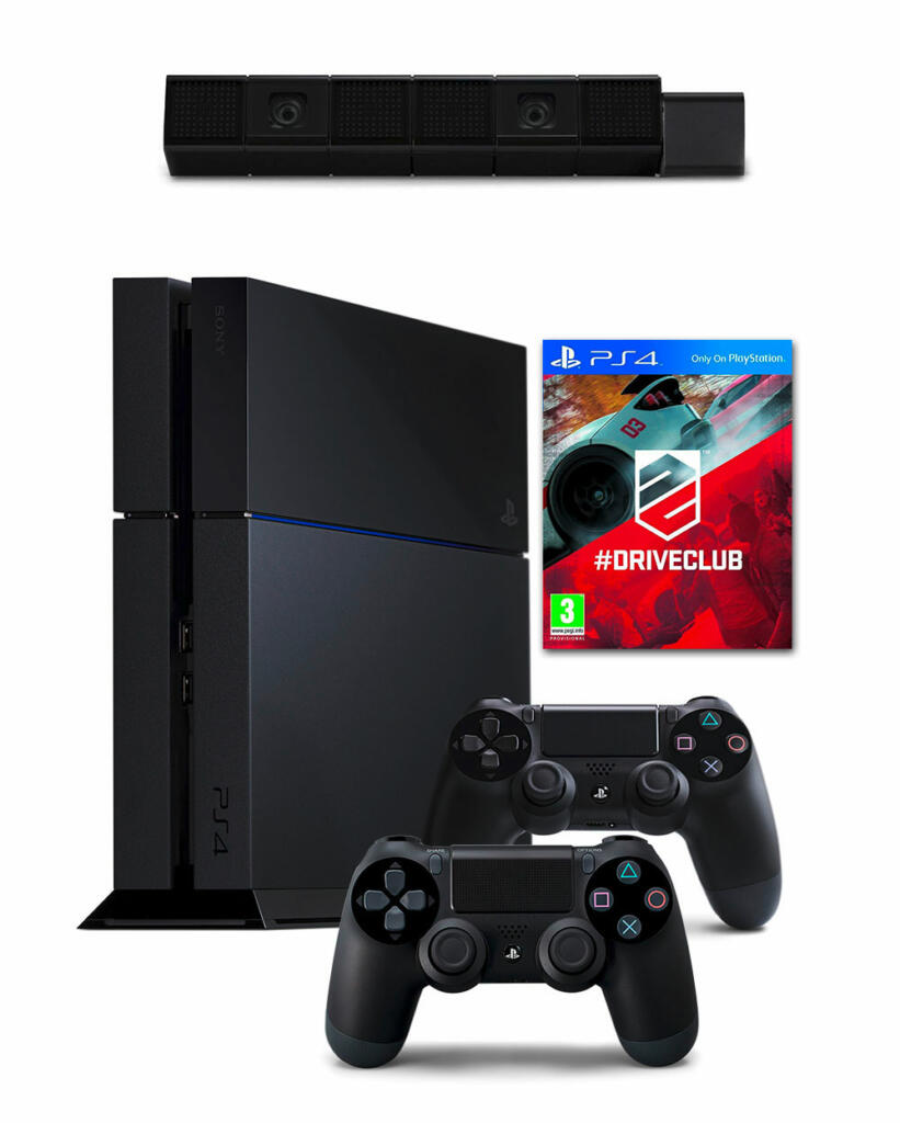 console ps4 mega bundle driveclub 500 go acheter. Black Bedroom Furniture Sets. Home Design Ideas