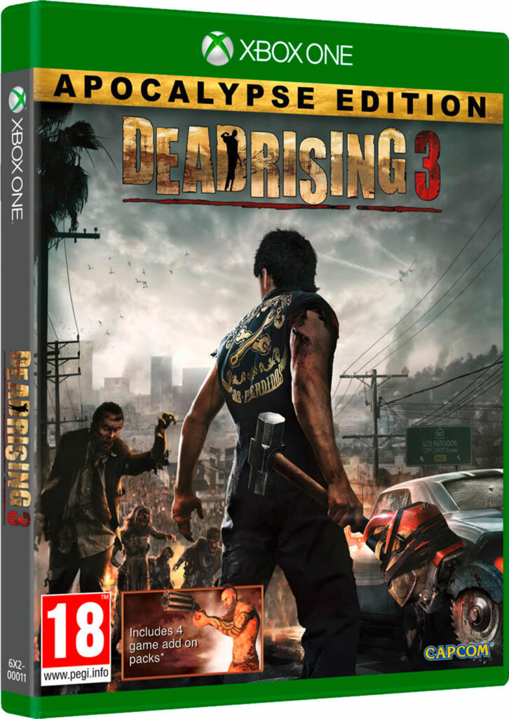 dead rising 3 apocalypse edition xbox one acheter vendre sur r f rence gaming. Black Bedroom Furniture Sets. Home Design Ideas