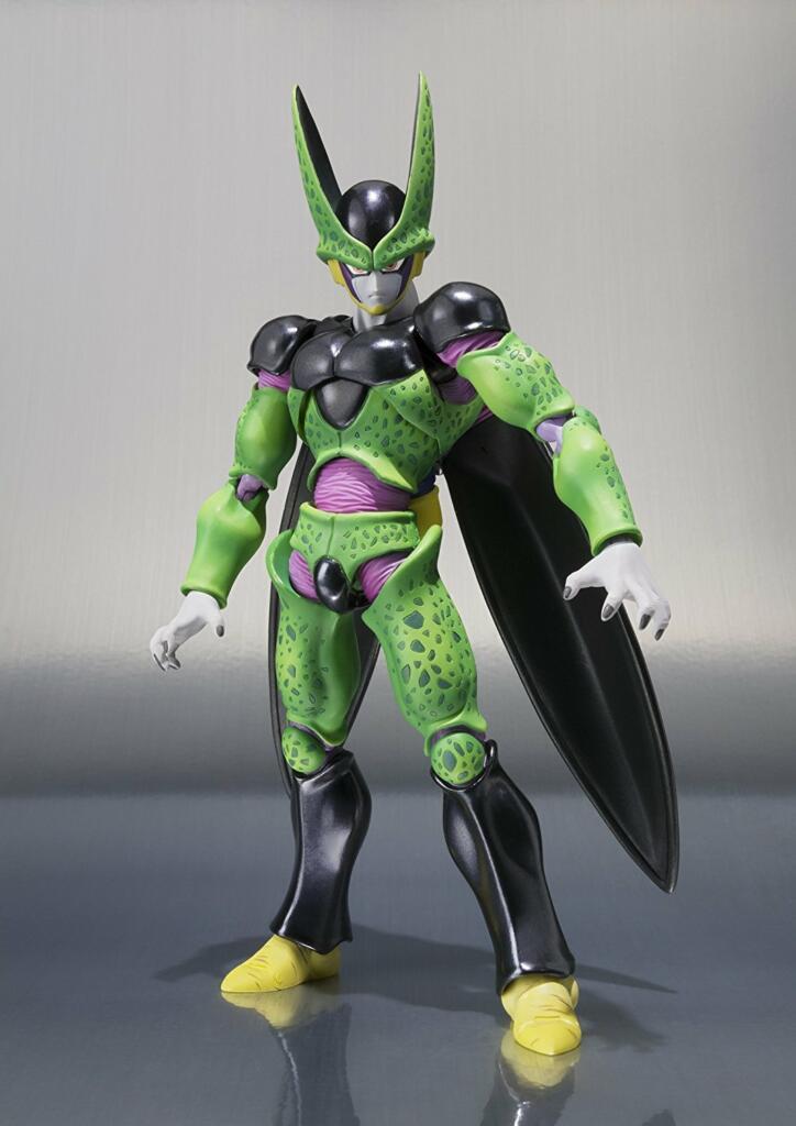 Figurine Dragon Ball Z Cell forme parfaite - S.H. Figuarts - Acheter vendre sur Référence Gaming