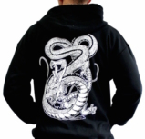 Sweat-shirt Noir DRAGON BALL SHENRON - XL
