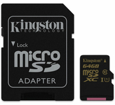 Carte Micro SDXC 64 Go - Switch