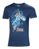 T-Shirt The Legend of Zelda : Breath of the Wild Link avec Arc - XL