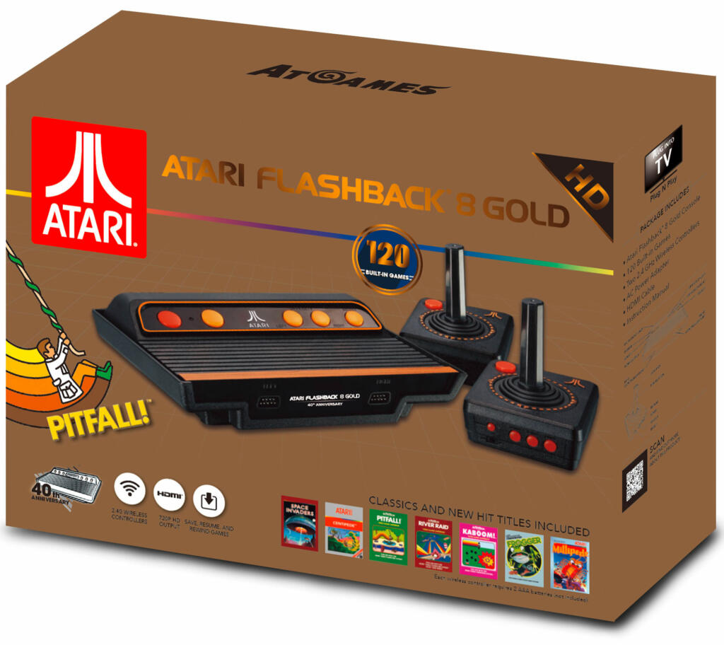 Console atari retro flashback 8 gold 120 jeux acheter vendre sur r f rence gaming - Console de jeux a vendre ...