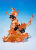 "Figurine One Piece : Portugas D. Ace - Figuarts Zero ""Brother Bond"""
