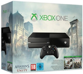 Xbox One + Assassin's Creed Unity + Assassin's Creed IV Black Flag