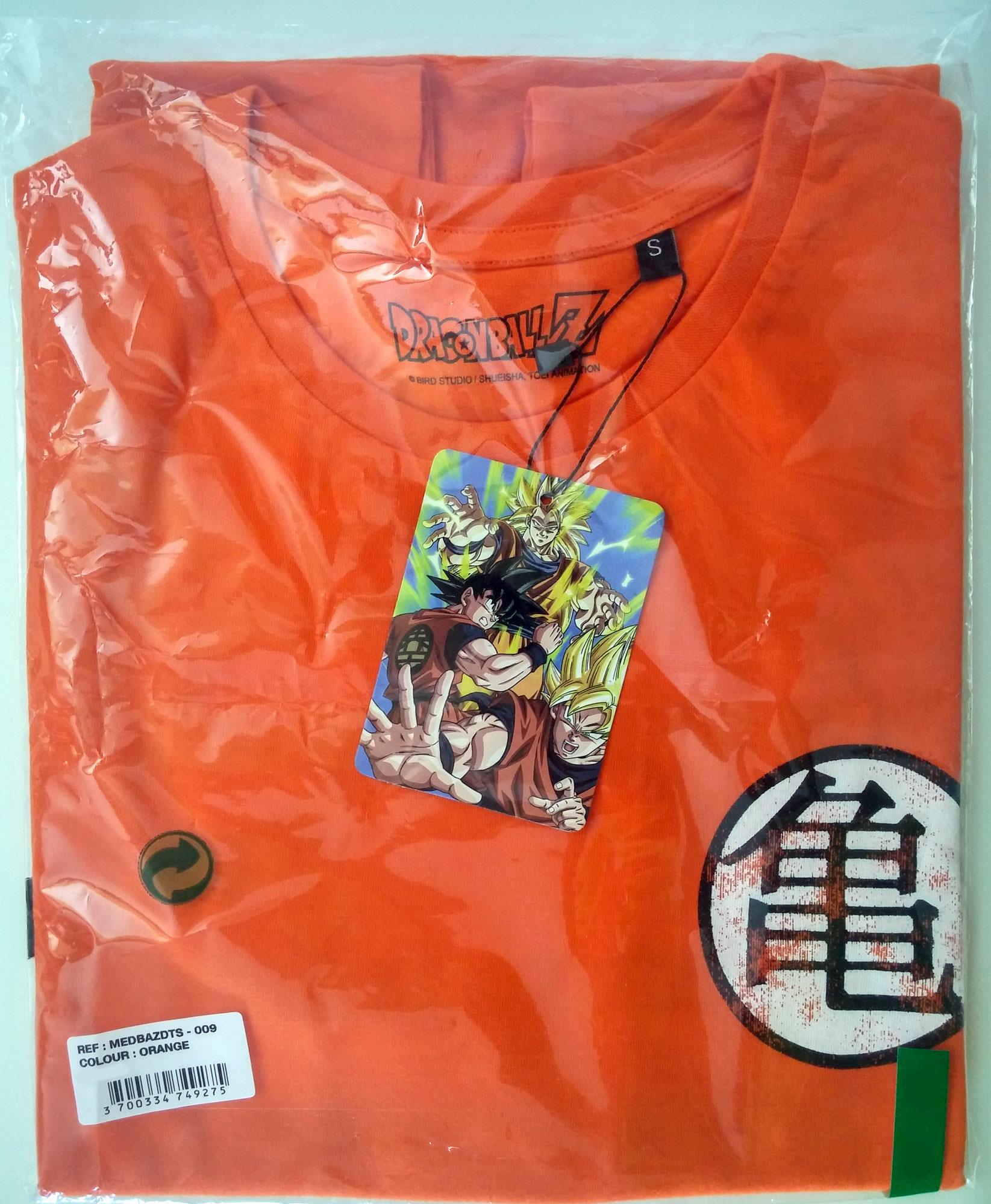 T Shirt Dragon Ball Z Symbols Kam Kao Us Taille L Rfrence