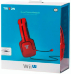Casque Tritton Kunai Stereo Rouge - WII U / New 3DS / 3DS