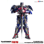 Figurine Optimus Prime ThreeZero Transformers : The Last Knight