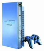 Console PlayStation 2 FAT Aqua Blue