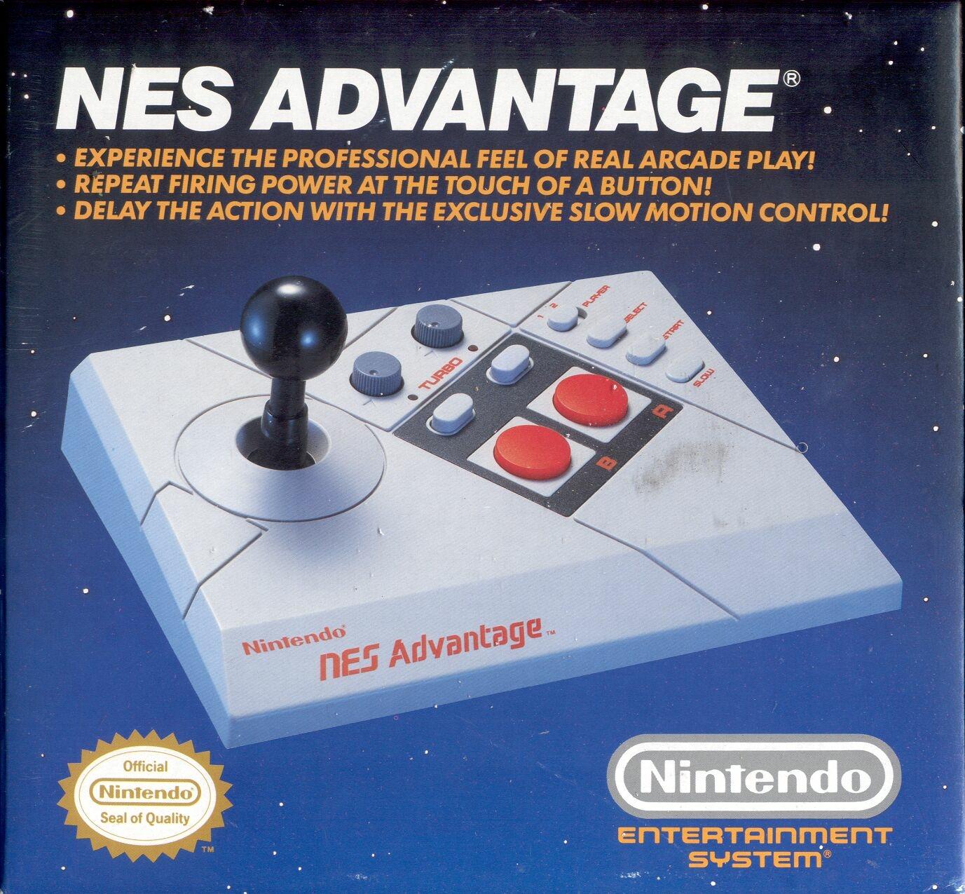 Election de la meilleure manette officielle pour console 8bits ! Nes-advantage-nes