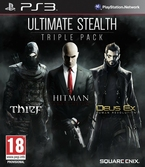 Stealth Pack : Thief + Hitman + Deus Ex : Human Revolution - PS3