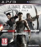 Image produit « Action Pack : Tomb Raider + Just cause 2 + Sleeping Dogs - PS3 »