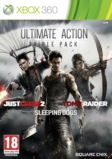 Action Pack : Tomb Raider + Just cause 2 + Sleeping Dogs - XBOX 360