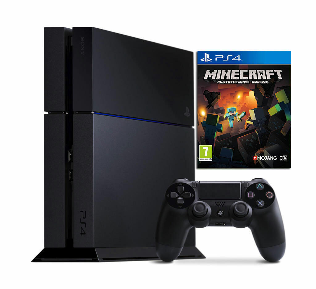 console ps4 minecraft ps4 acheter vendre sur r f rence gaming. Black Bedroom Furniture Sets. Home Design Ideas