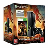 Console Xbox 360 250 Go slim + Gears of War Judgment - XBOX 360