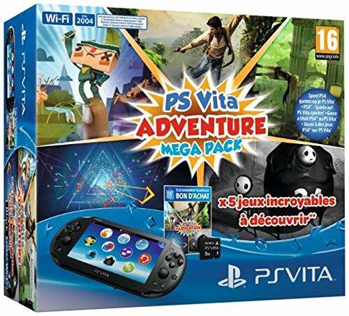 console ps vita wifi 2000 adventure games mega pack carte 8 go acheter vendre sur. Black Bedroom Furniture Sets. Home Design Ideas