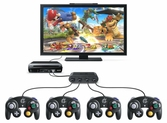 Adaptateur Manette Gamecube Nintendo pour Wii U - Switch