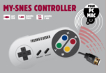 Manette USB Super Nintendo - PC/MAC