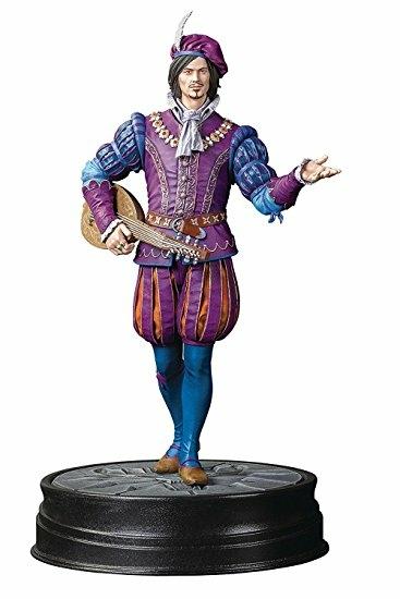 THE WITCHER 3 The Wild Hunt - Figurine Jaskier Dandelion - 20Cm : Référence  Gaming