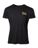 T-shirt Zelda Breath Of The Wild : Logo Zelda Or - XXL