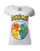 POKEMON - T-Shirt Starting Characters GIRL (XL)