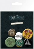 HARRY POTTER - Pack 6 Badges - Mix