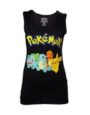 POKEMON - T-Shirt Starting Characters Tanktop GIRL (S)