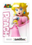 Amiibo Peach (Super Mario Collection) - WII U