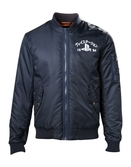 PLAYSTATION - Blue Bomber Jacket with Playstation Logo (L)