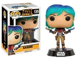 STAR WARS REBELS - Bobble Head POP N° 135 - Sabine
