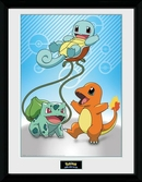 POKEMON - Collector Print 30X40 - Kanto Starters