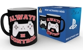 Mug Thermo Réactif PLAYSTATION 300 ml - Always in Control