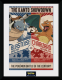 POKEMON - Collector Print 30X40 - Red Vs Blue