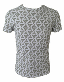 ASSASSINS CREED - T-Shirt All over printe abstergo logo (L)