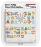 Coque Monster Hunter 4 Blanche - New 3DS