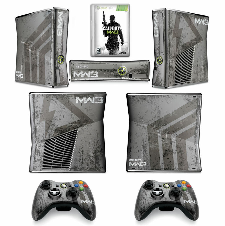 console xbox 360 slim 320 go modern warfare 3 dition. Black Bedroom Furniture Sets. Home Design Ideas