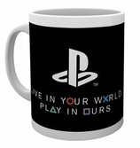 PLAYSTATION - Mug - 300 ml - Live in your World
