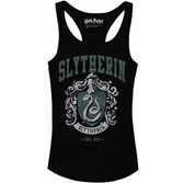HARRY POTTER - T-Shirt Top Tank Slytherin Old School - GIRL (L)