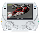 Console PSP GO blanche - PSP