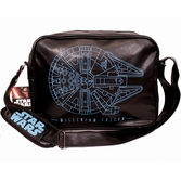 STAR WARS 7 - Messenger Bag - Millenium Falcon Plan