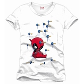 DEADPOOL - MARVEL T-Shirt Baby Arrows - White (XL)