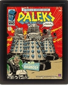 DOCTOR WHO - 3D Lenticular Poster 26X20 - Daleks Comic Cover