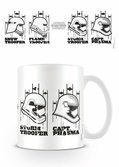STAR WARS 7 - Mug - 300 ml - Helmets