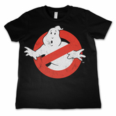 GHOSTBUSTER - T-Shirt KIDS Logo Distressed (12 Years)