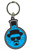 BREAKING BAD - Porte-Clés Caoutchouc - Flask 6 Cm