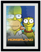 SIMPSONS - Collector Print 30X40 - Homerland