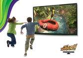 Kinect + The Gunstinger + Fruit Ninja & Kinect Adventures - XBOX 360
