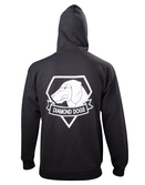 METAL GEAR SOLID V - Black Diamong Dog Zipper Hoodies (L)