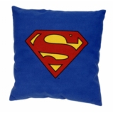 DC COMICS  - Coussin Superman Logo Officiel ( 40 x 40 )